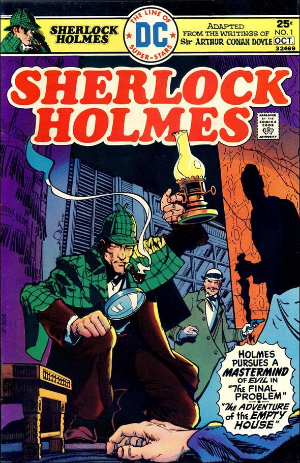 Sherlock Holmes (1975) 1-A by DC