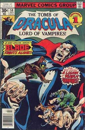 Tomb of Dracula (1972) 58-A