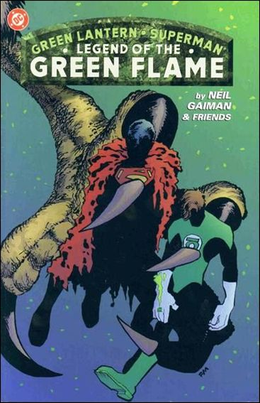 Green Lantern/Superman: Legend of the Green Flame 1-A by DC