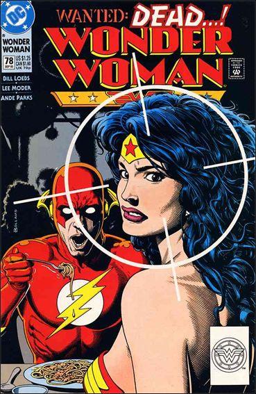 Wonder Woman (1987) 78-A by DC