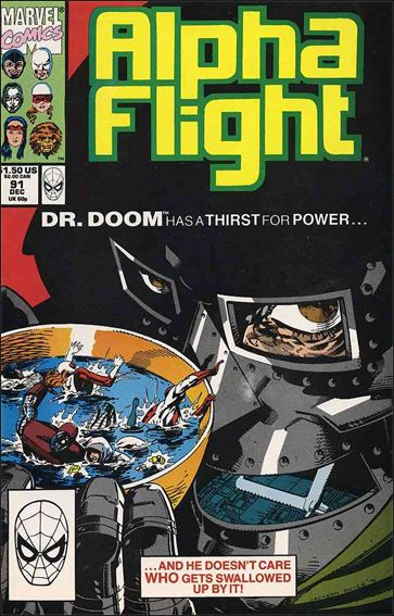 Alpha Flight (1983) 91-A by Marvel