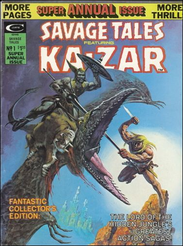 Savage Tales (1971) 12-A by Marvel