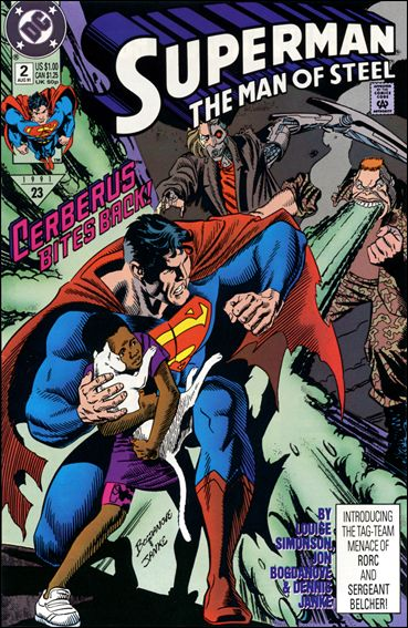 Superman: The Man of Steel 2-A by DC