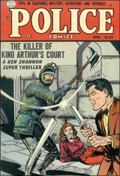 Police Comics 125-A by Comic Magazines
