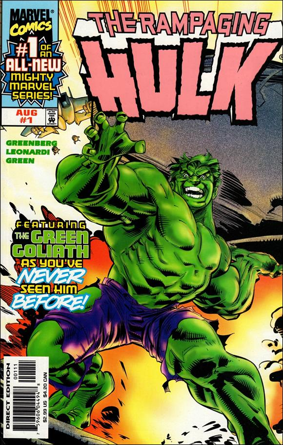 Rampaging Hulk (1998) 1-A by Marvel