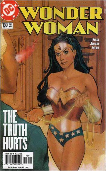 Wonder Woman (1987) 199-A by DC