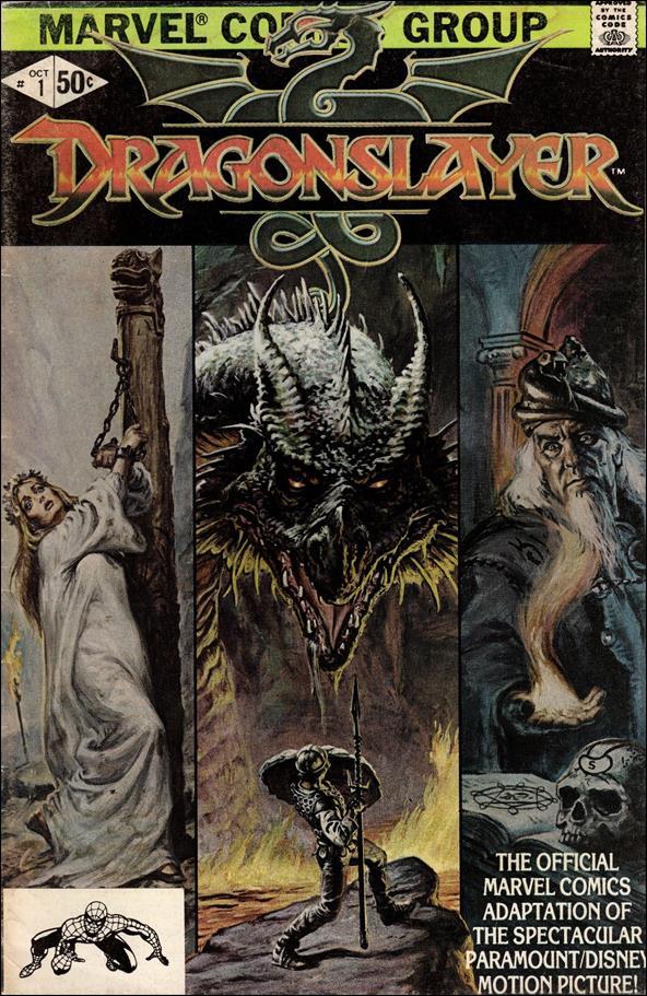 Dragonslayer 1-A by Marvel