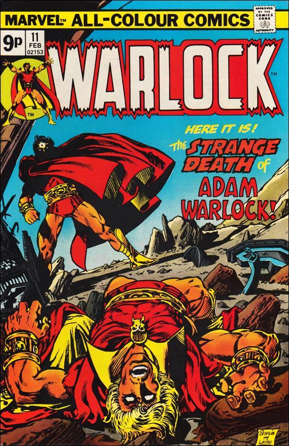 Warlock (1972) 11-B by Marvel