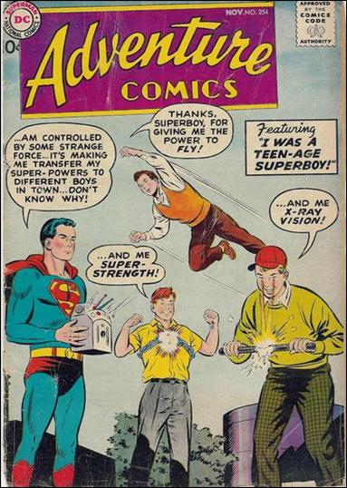 Adventure Comics (1938) 254-A by DC
