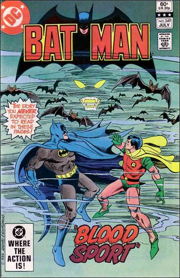 Batman (1940) 349-A by DC