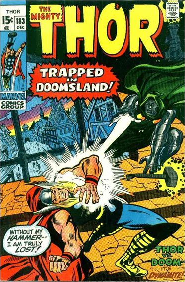 Thor (1966) 183-A by Marvel