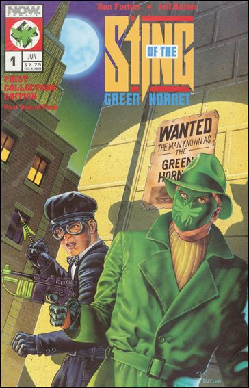 Sting of the Green Hornet 1-A by Now Comics
