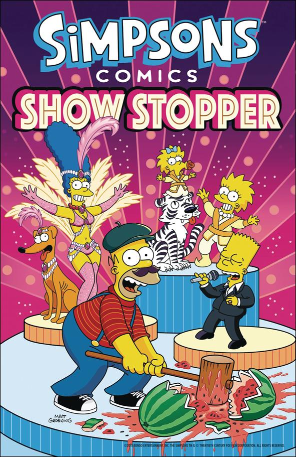 Simpsons Comics Showstopper nn-A by Bongo