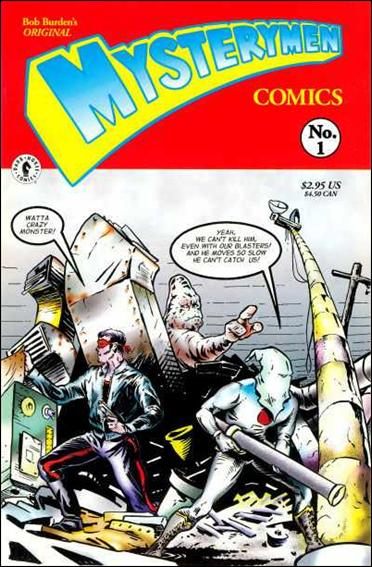 Original Mysterymen Presents 1-A by Dark Horse