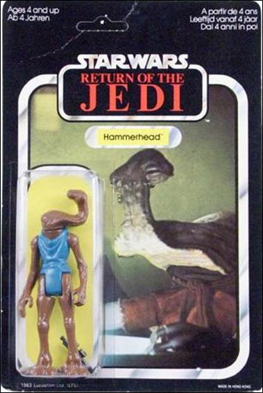 "Star Wars 3 3/4"" Basic Action Figures (Vintage) Hammerhead (RotJ) by Kenner"