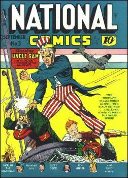 National Comics (1940) 3-A by Quality