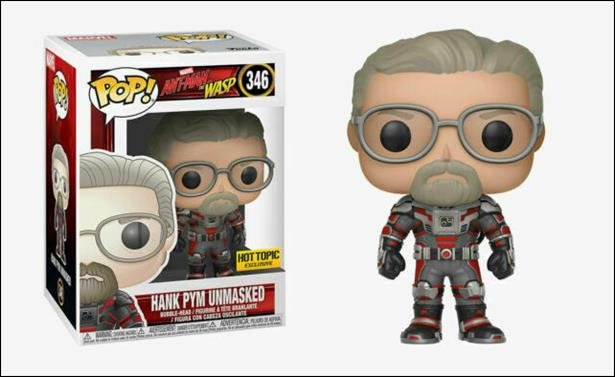 POP! Marvel Hank Pym (Unmasked) by Funko