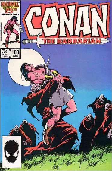 Conan the Barbarian (1970) 183-A by Marvel