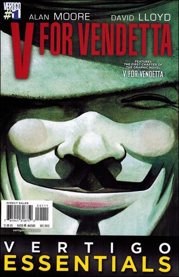 V for Vendetta 1-B by DC