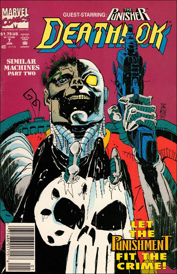 Deathlok (1991) 7-A by Marvel