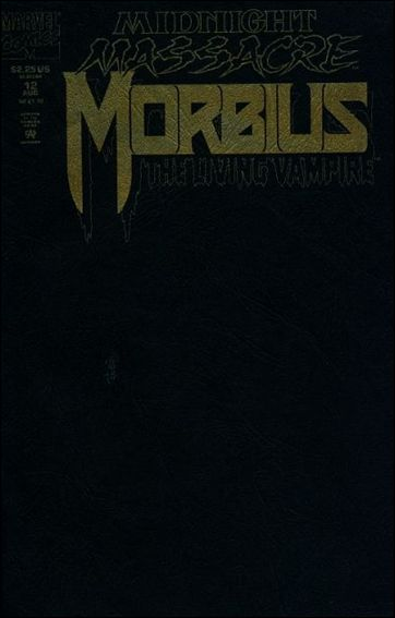 Morbius: The Living Vampire (1992) 12-A by Marvel