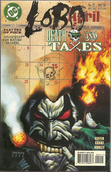 Lobo: Death and Taxes 2-A by DC