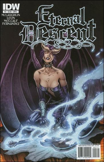 Eternal Descent (2011) 2-A by IDW