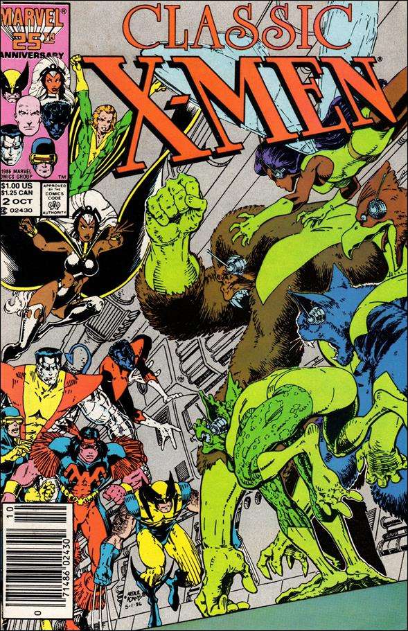 Classic X-Men 2-A by Marvel