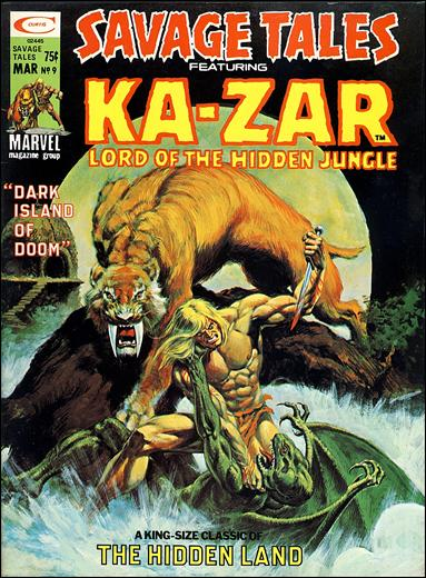 Savage Tales (1971) 9-A by Marvel