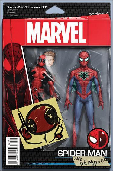 Spider-Man/Deadpool 1-D by Marvel