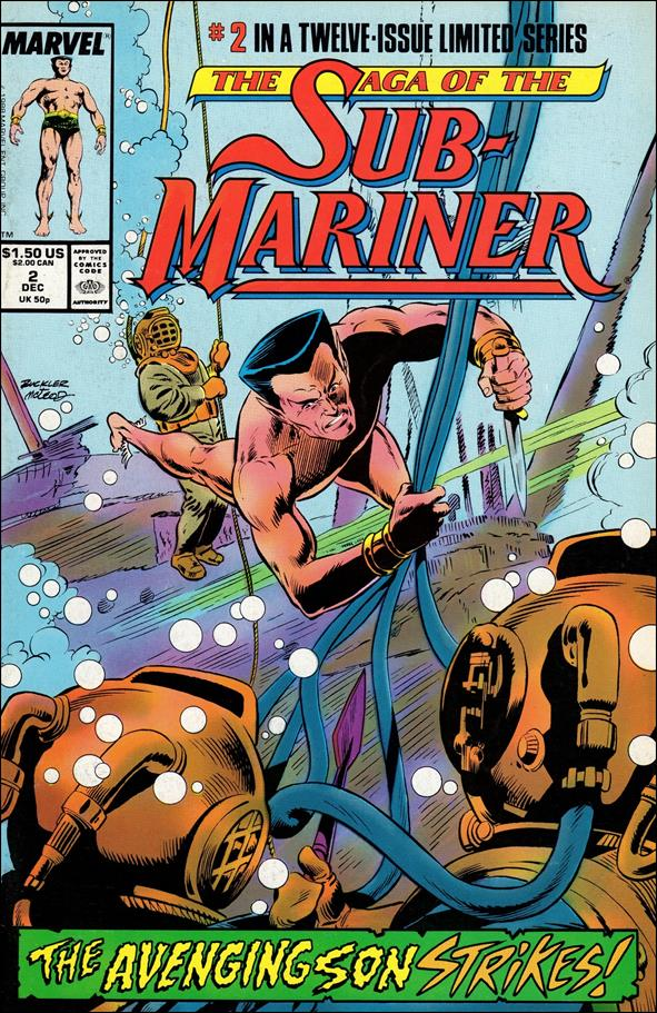 Saga of the Sub-Mariner 2-A by Marvel