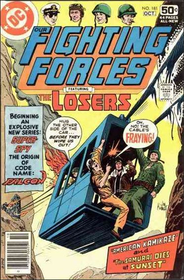 Our Fighting Forces (1954) 181-A by DC