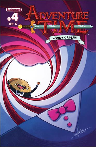 Adventure Time: Candy Capers 4-A by Kaboom!