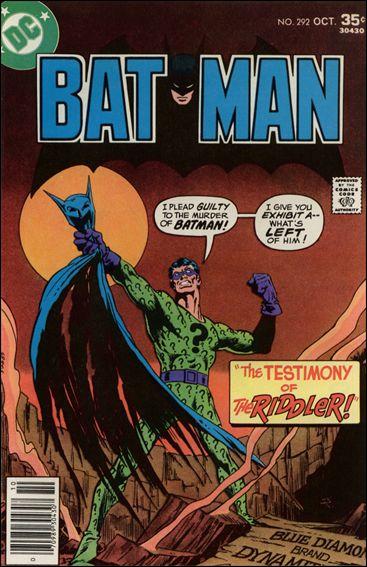 Batman (1940) 292-A by DC