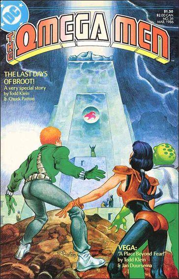 Omega Men (1983) 36-A by DC