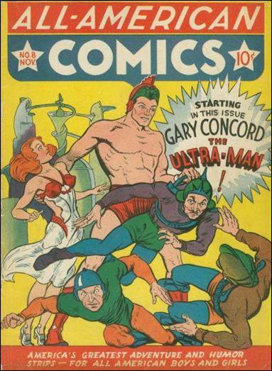 All-American Comics (1939) 8-A by DC