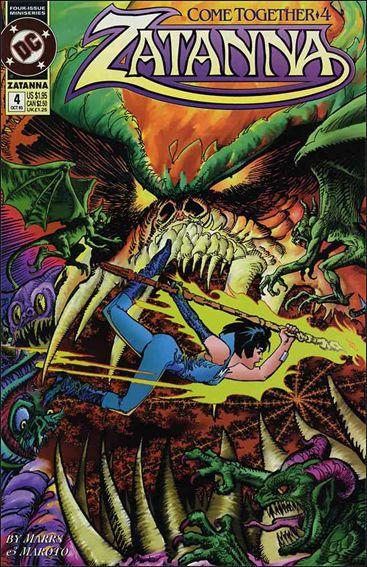 Zatanna (1993) 4-A by DC