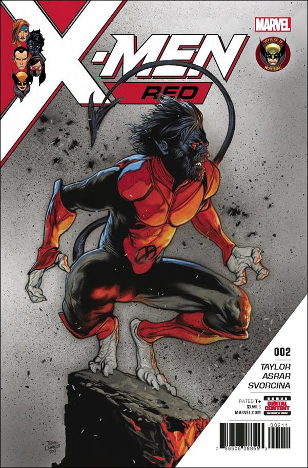 X-Men: Red 2-A by Marvel