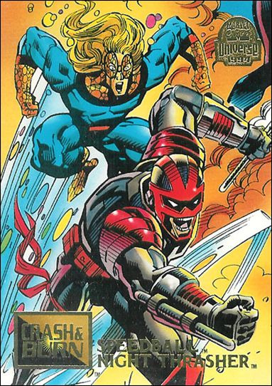 Marvel Universe: Series 5 (Base Set) 79-A by Fleer