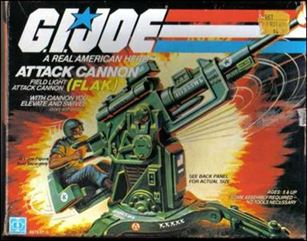 "G.I. Joe: A Real American Hero 3 3/4"" Basic Vehicles and Playsets FLAK (Attack Cannon)"