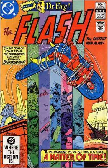 Flash (1959) 311-A by DC