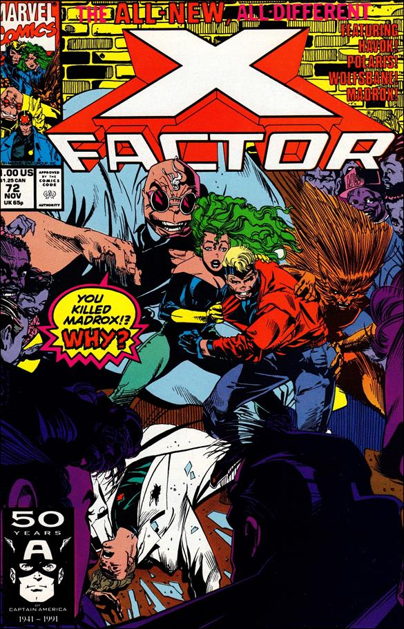 X-Factor (1986) 72-A by Marvel