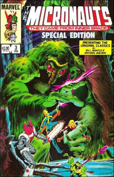 Micronauts: Special Edition 3-A by Marvel