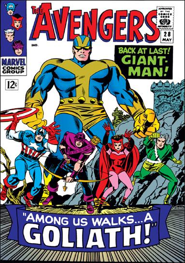 Avengers (1963) 28-A by Marvel