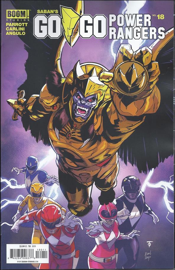 Saban's Go Go Power Rangers 18-A by Boom! Studios