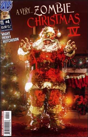 Very Zombie Christmas 4-A by Antarctic Press