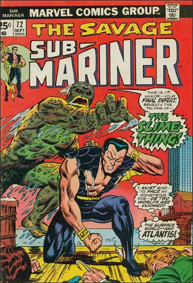 Sub-Mariner (1968) 72-A by Marvel