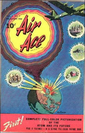 Air Ace (1945) 2-A by Street and Smith Publications
