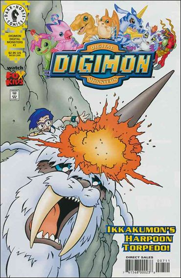 Digimon Digital Monsters 7-A by Dark Horse