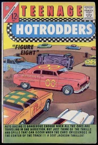 Teenage Hotrodders 12-A by Charlton